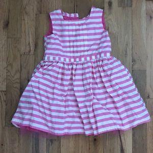Pink & white baby dress